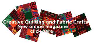 Creative quilting and fabric crafts